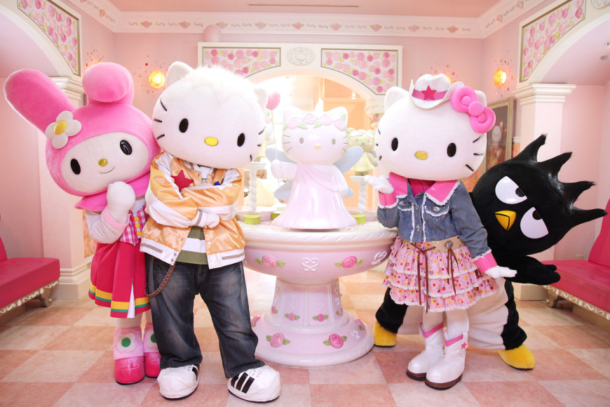 An Hello Kitty land experiences not to be missed!